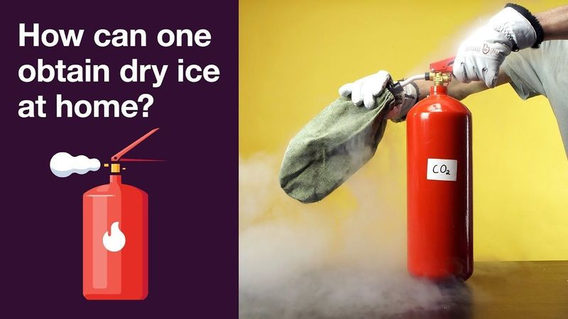 How to make dry ice at home
